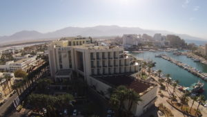 hotel drone riprese